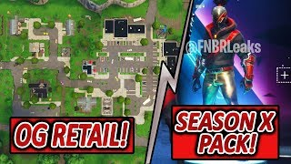 NEW UPDATE 🔥 NEW MEGA MALL ⚡ & RED STRIKER PACK | Fortnite battle royale