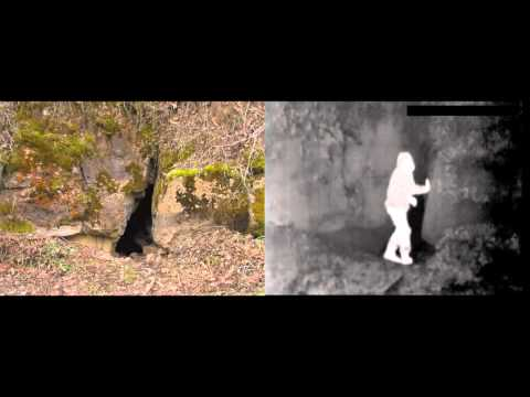 Cave Features in Infrared and Visible Light