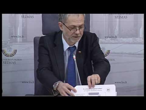 """2017-03-16 Seimo nario Lino Balsio spaudos konferencija """"Lietuvos miškai verčiami buldozeriu"""""""