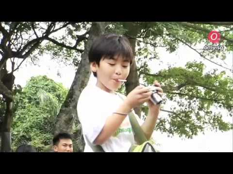 Kids attend LUMIX Young Eco Photographers Workshop at Singapore Zoo!