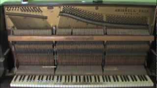 Scrapping a piano