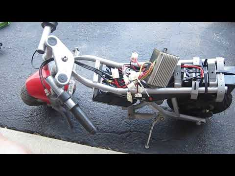 Razor POCKET Rocket 36v Conversion With TEST Ride