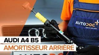 Tutoriels vidéo et manuels de réparation pour AUDI A4 : gardez votre voiture en parfait état