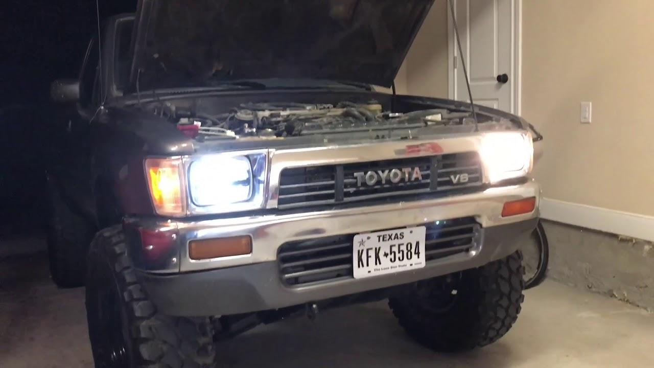 truck lite led headlight wiring diagram john deere z425 mower installing headlights youtube