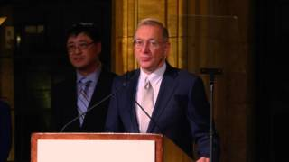 Drs. Chen, Freeman and Sharpe Accept the William B. Coley Award from the Cancer Research Institute