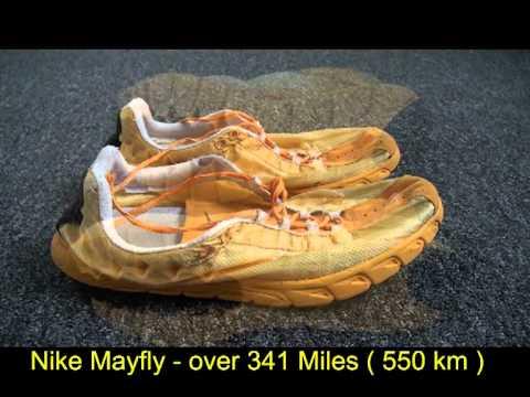 Nike Mayfly - Over 341 Miles ( 550 Km ) ( Ironman DYBEK )
