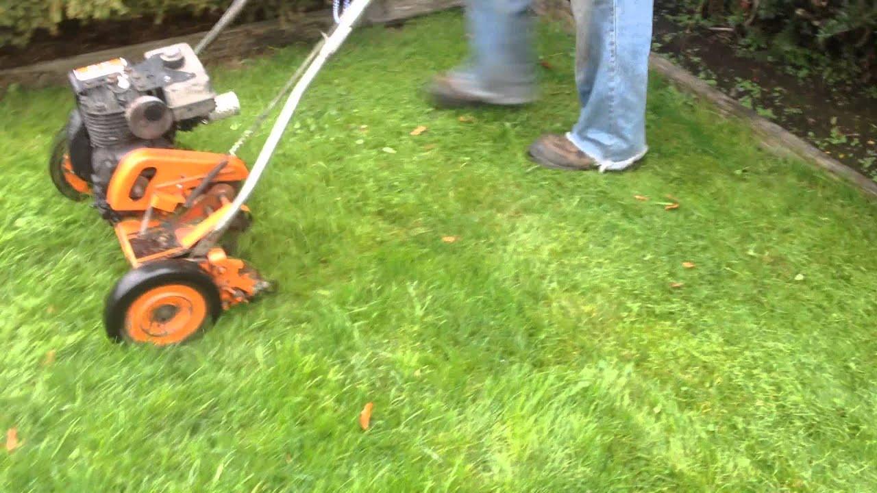 Craftsman Eager 1 18 Quot 5 Blade Reel Mower Cutting Deep
