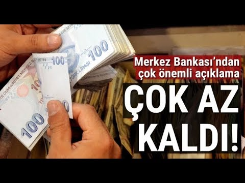 Merkez Bankası 2018 Enflasyon Tahminini...
