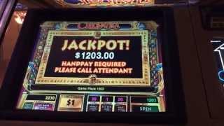 Cleopatra part 2 HANDPAY JACKPOT $20 bet high limit slots