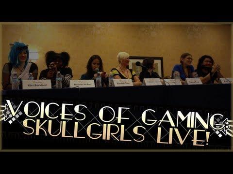 Skullgirls Live @ AnimeLA! Episode 0 - Voices of Gaming |