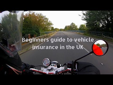 Beginners guide to vehicle insurance in the UK