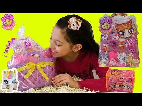 BFF Best Furry Friends Season 1 Toys Opening Review Single Delux Squad Packs