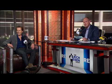 """Actor Kevin Bacon on """"Six Degrees of Kevin Bacon"""" Game - 5/11/17"""