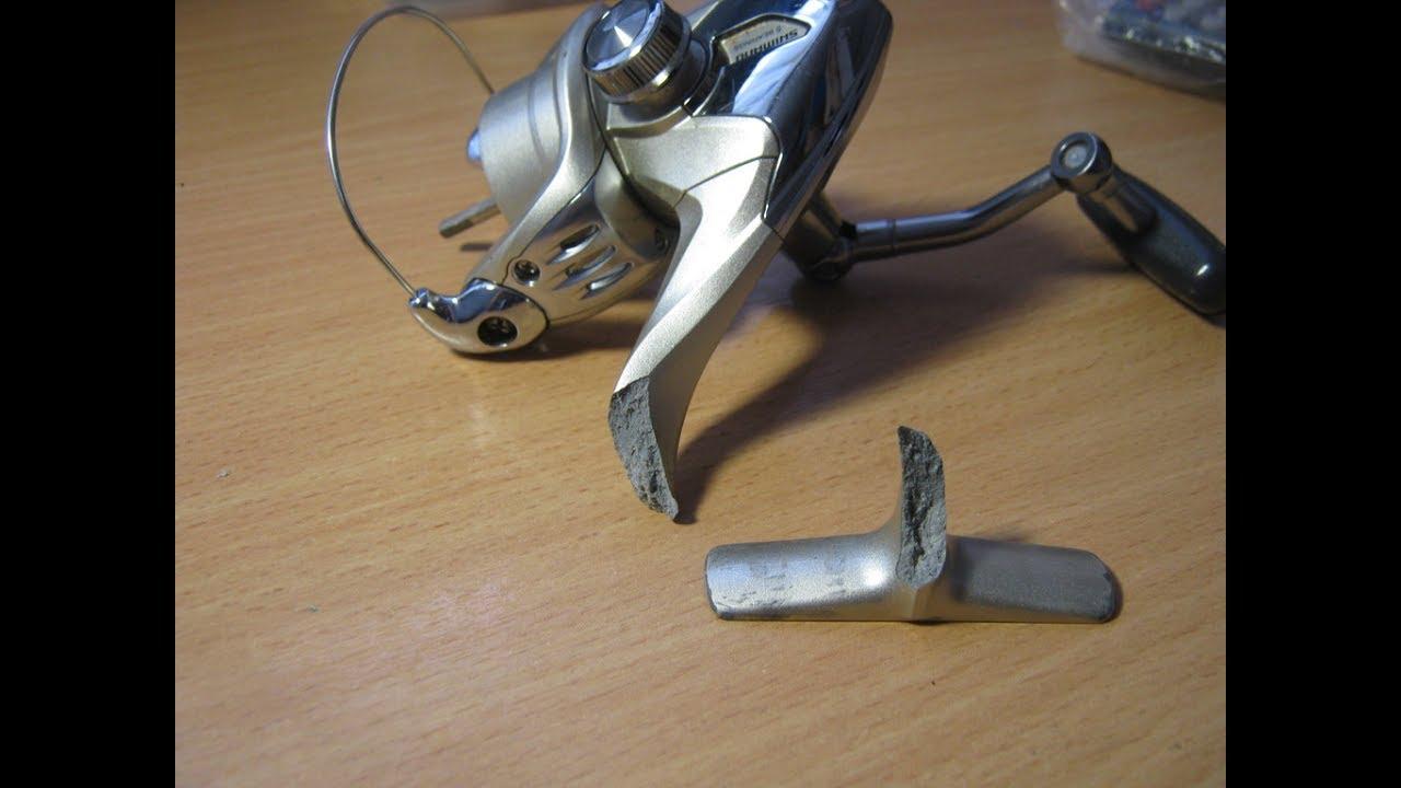 У меня сломалась катушка для рыбалки что делать