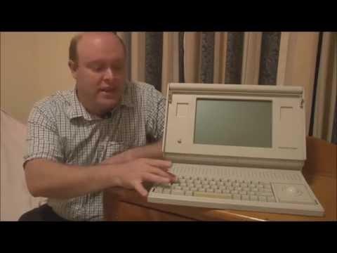 Apple Macintosh Portable (1989) Full Tour