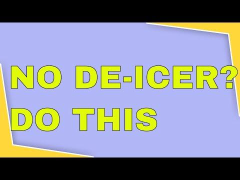 Rookie Trucker TIps [2019]: No De-Icer?