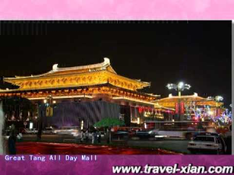 The Great Tang All Day Mall in Xian