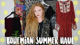Bohemian Summer Haul   Try On