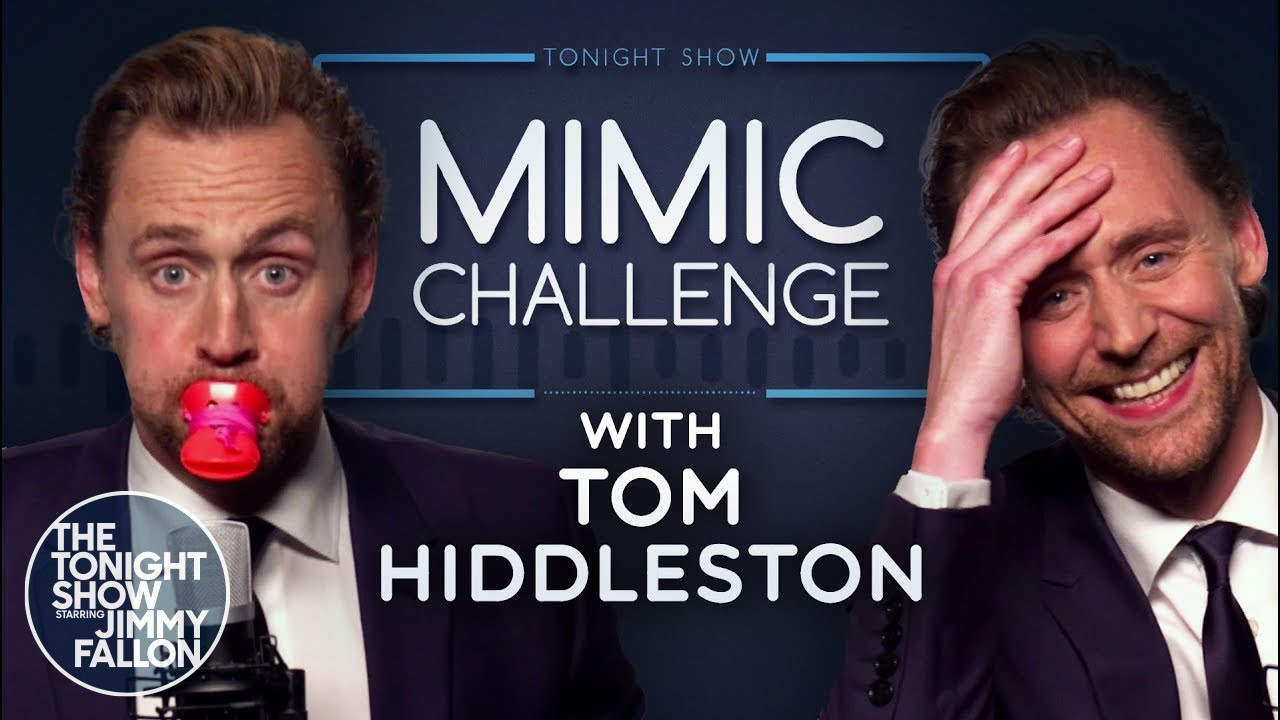 Download Mimic Challenge with Tom Hiddleston | The Tonight Show Starring Jimmy Fallon