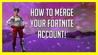 How to MERGE Fortnite Accounts! | Transfer Skins! | 2019