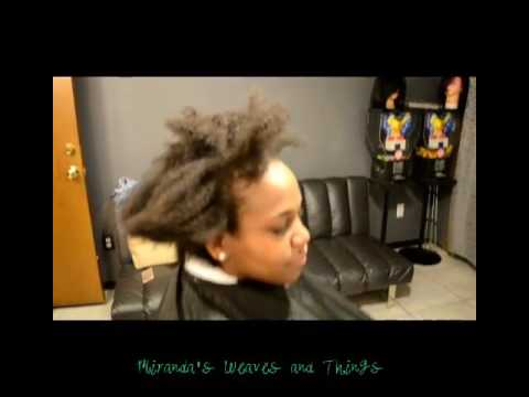 Black Girl Perm Kinky To Wavy Tight To Loose Curls That Is