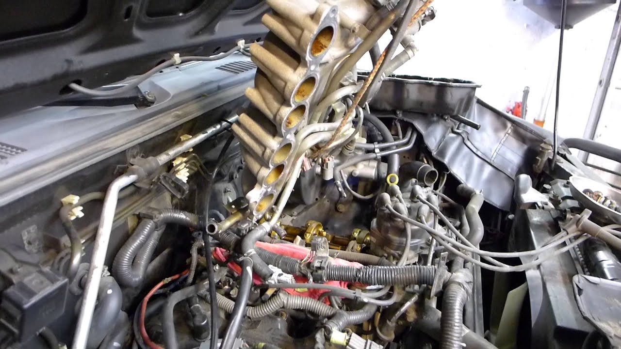Nissan Xterra valve cover gaskets - YouTube