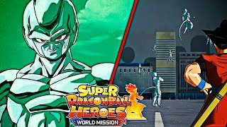 😱METAL COOLER INTENTA DESTRUIR LA CIUDAD😱 Super Dragon Ball Heroes: World Mission