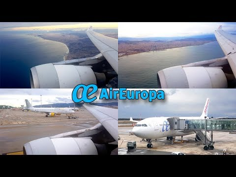 #AIREUROPA Series | Landing at BARCELONA | Airbus A330-200