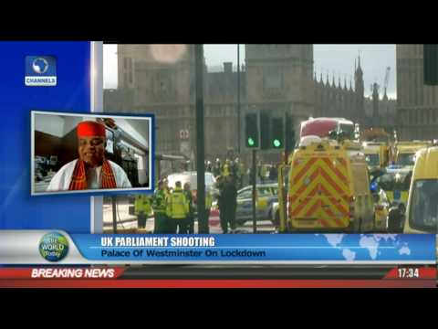 UK Parliament Shooting: Palace Of Westminster On Lockdown Pt 1