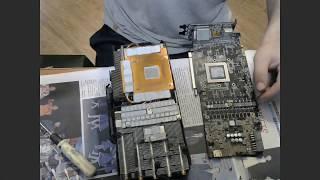Купил AORUS GeForce® GTX 1080 Ti после полутора-лет в майнинге - Обзор с Коробки.