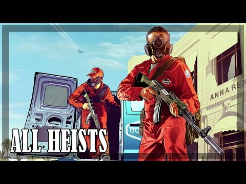 GTA 5 - All Heists, all methods [GOLD]