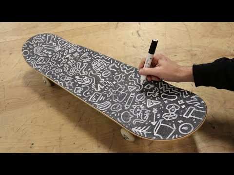 Filling My Griptape with Doodles!!!