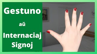 Gestuno: la Esperanto de Signolingvoj? | Keep It Simple Esperanto
