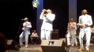 "Eddie McCoy performing ""A Man Name Jesus"" with The Swanee Quintet"