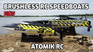 Atomik RC Barbwire 3 & Barbwire 2 XL - The BEST RC Boats?