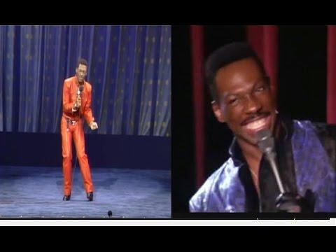 Eddie Murphy imitando a MJ en sus shows Delirious & Raw - Sub. Español