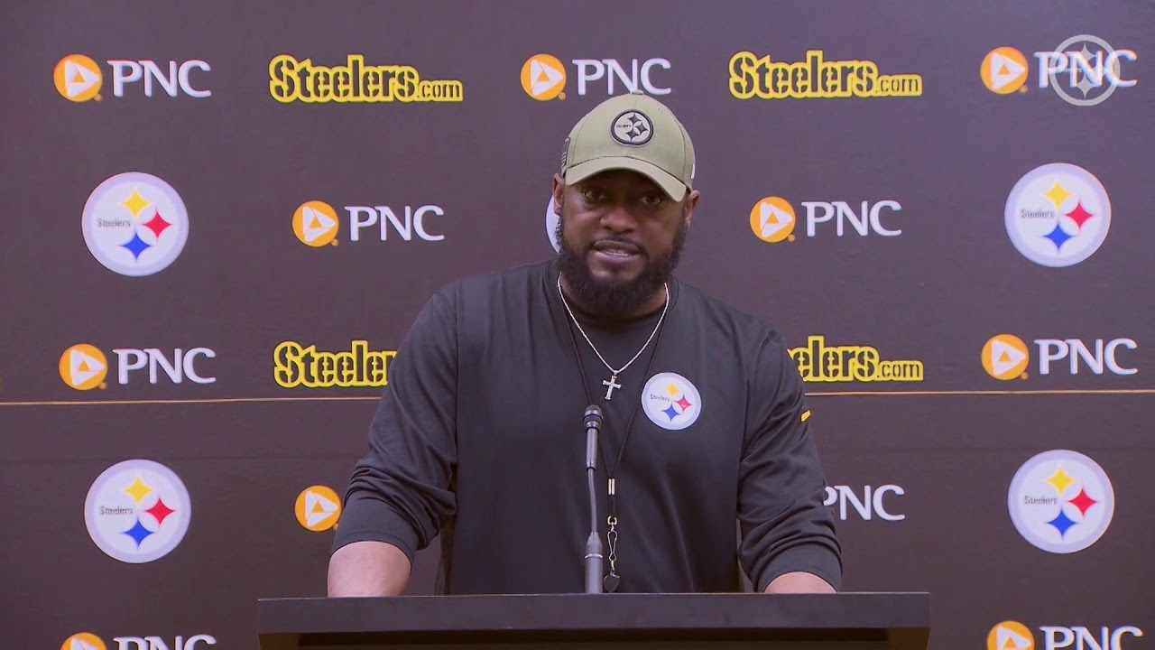 Steelers Head Coach Mike Tomlin Has A Lot Of Respect For The Browns Ms Ll 11 13 19
