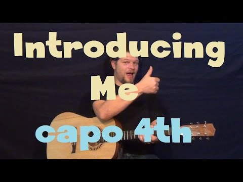 Introducing Me (Nick Jonas) Easy Strum Guitar Lesson How to Play Tutorial