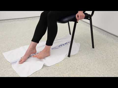Plantar Fascia Intrinsic Towel Strengthening Exercise