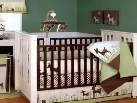 Get Willow Organic 5 Piece Baby Crib Bedding Set with Bumper By Kidsline Product Images
