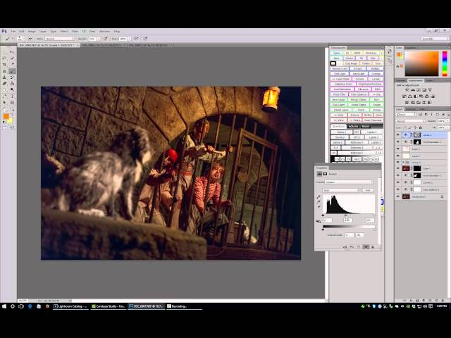 How To Edit Pirates of the Caribbean in Lightroom & Photoshop - Walt Disney World Photo Editing
