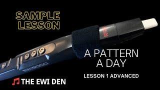 EWI FREE SAMPLE LESSON A PATTERN A DAY ADVANCED