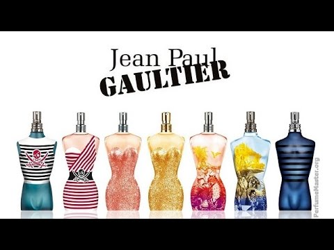 Collection Paul Jean Gaultier Perfume 2015 hQtrsd