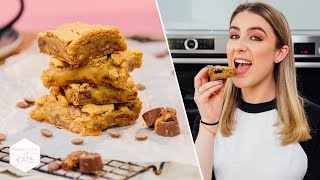 Rolo Caramel Cookie Bar - In The Kitchen With Kate