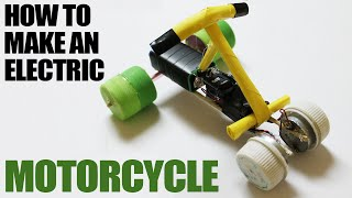 How To Make An Electric Motorcycle - Homemade Electric Motorbike