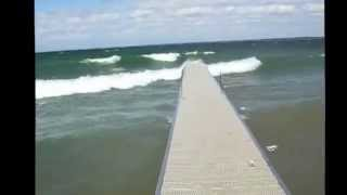 DockinaBox Aluminum Boat Dock Ontario, Canada Big Waves Boat Lifts & Cottage Accss.