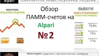 Как инвестировать в ПАММ счета Альпари