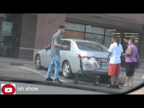 putting for sale signs on cars in the hood prank YouTube