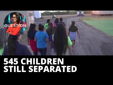 Migrant children still separated from parents after 'zero tolerance' policy