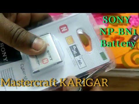 SONY CAMERA BATTERY NP BN1